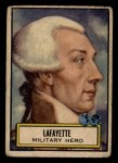 1952 Topps Look 'N See #134  Lafayette  Front Thumbnail