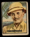 1950 Topps Bring Em Back Alive #32   The Great Adventurer Front Thumbnail