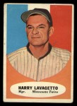 1961 Topps #226  Harry Lavagetto  Front Thumbnail