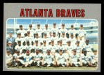 1970 Topps #472   Braves Team Front Thumbnail