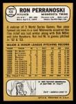 1968 Topps #435  Ron Perranoski  Back Thumbnail