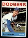 1964 Topps #231  Dick Calmus  Front Thumbnail