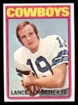1972 Topps #248  Lance Alworth  Front Thumbnail