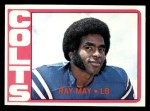 1972 Topps #297  Ray May  Front Thumbnail