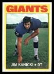 1972 Topps #305  Jim Kanicki  Front Thumbnail