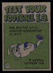 1972 Topps #131   -  Tom Matte Pro Action Back Thumbnail