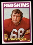 1972 Topps #243  Myron Pottios  Front Thumbnail