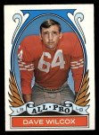 1972 Topps #282   -  Dave Wilcox All-Pro Front Thumbnail