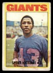 1972 Topps #233  Spider Lockhart  Front Thumbnail
