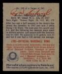 1949 Bowman #140  Rae Scarborough  Back Thumbnail