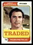 1974 Topps Traded #139 T Aurelio Monteagudo  Front Thumbnail