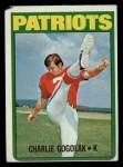 1972 Topps #44  Charlie Gogolak  Front Thumbnail