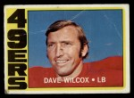 1972 Topps #69  Dave Wilcox  Front Thumbnail