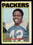 1972 Topps #85  John Brockington  Front Thumbnail