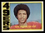 1972 Topps #90  Gene Washington  Front Thumbnail