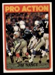 1972 Topps #119   -  Jim Nance Pro Action Front Thumbnail