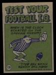 1972 Topps #126   -  John Riggins Pro Action Back Thumbnail