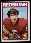 1972 Topps #51  Curt Knight  Front Thumbnail