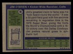 1972 Topps #56  Jim O'Brien  Back Thumbnail