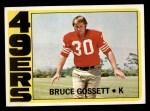 1972 Topps #189  Bruce Gossett  Front Thumbnail