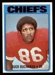 1972 Topps #204  Buck Buchanan  Front Thumbnail