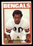 1972 Topps #307  Lemar Parrish  Front Thumbnail