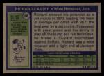 1972 Topps #68  Richard Caster  Back Thumbnail