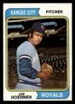 1974 Topps #493  Joe Hoerner  Front Thumbnail