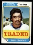 1974 Topps Traded #649 T Fernando Gonzalez  Front Thumbnail