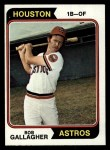 1974 Topps #21  Bob Gallagher  Front Thumbnail