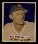 1949 Bowman #227  Fritz Ostermueller  Front Thumbnail