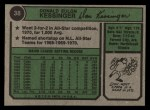 1974 Topps #38  Don Kessinger  Back Thumbnail