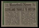 1974 Topps Traded #175 T Reggie Cleveland  Back Thumbnail
