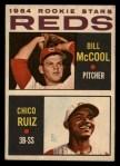 1964 Topps Venezuelan #356   -  Bill McCool / Chico Ruiz  Reds Rookies Front Thumbnail