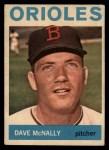 1964 Topps Venezuelan #161  Dave McNally  Front Thumbnail