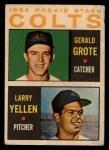 1964 Topps Venezuelan #226   -  Jerry Grote / Larry Yellen  Colt .45s Rookies Front Thumbnail