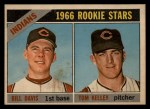 1966 Topps Venezuelan #44   -  Tom Kelley / Bill Davis Indians Rookies Front Thumbnail