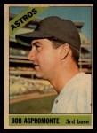 1966 Topps Venezuelan #352  Bob Aspromonte  Front Thumbnail