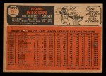 1966 Topps Venezuelan #227  Russ Nixon  Back Thumbnail