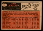 1966 Topps Venezuelan #88  Fred Whitfield  Back Thumbnail