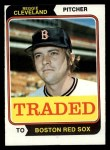 1974 Topps Traded #175 T  -  Reggie Cleveland Traded Front Thumbnail