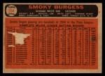 1966 Topps Venezuelan #354  Smoky Burgess  Back Thumbnail