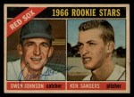 1966 Topps Venezuelan #356   -  Ken Sanders / Owen Johnson Red Sox Rookies Front Thumbnail