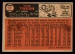 1966 Topps Venezuelan #205  Tom Tresh  Back Thumbnail