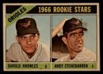 1966 Topps Venezuelan #27   -  Andy Etchebarren / Darold Knowles Orioles Rookies Front Thumbnail