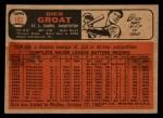 1966 Topps Venezuelan #103  Dick Groat  Back Thumbnail