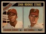 1966 Topps Venezuelan #254   -  Ferguson Jenkins / Bill Sorrell Phillies Rookies Front Thumbnail