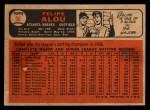 1966 Topps Venezuelan #96  Felipe Alou  Back Thumbnail