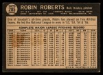 1964 Topps Venezuelan #285  Robin Roberts  Back Thumbnail