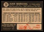 1964 Topps Venezuelan #280  Juan Marichal  Back Thumbnail